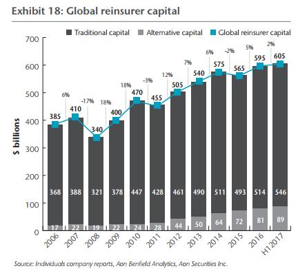 Global reinsurer capital