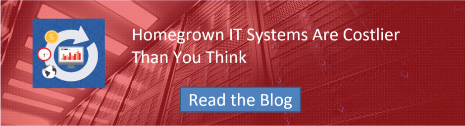 Homegrown IT Systems Are Costlier Than You Think